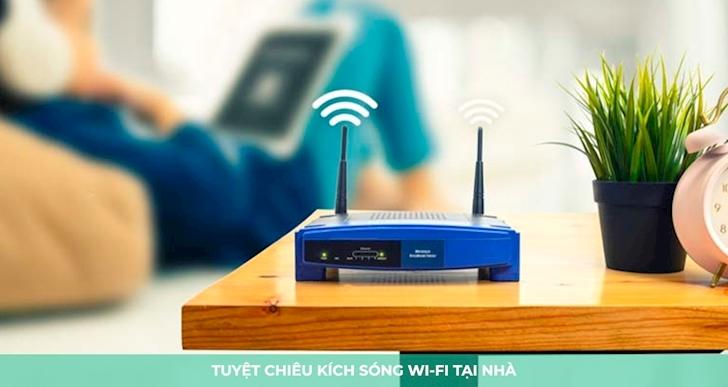 4 cách biện pháp vật lý để giúp tăng tốc mạng WiFi